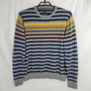 Tommy Hilfiger Sweater Grey Blue Yellow Pride